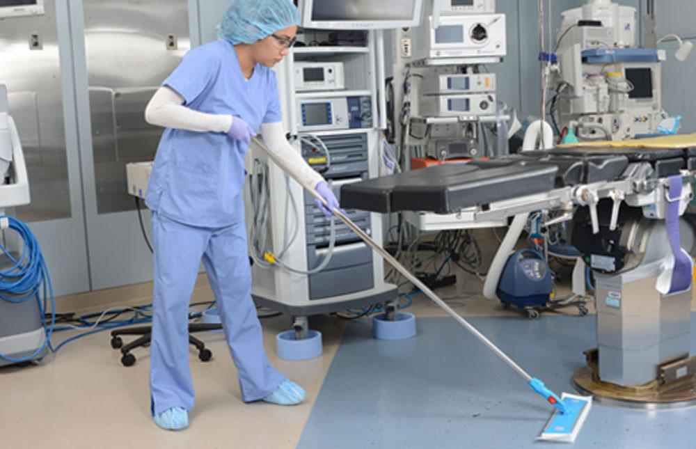 Limpeza e higienização hospitalar