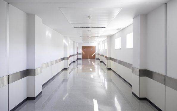 Tipo de limpeza hospitalar