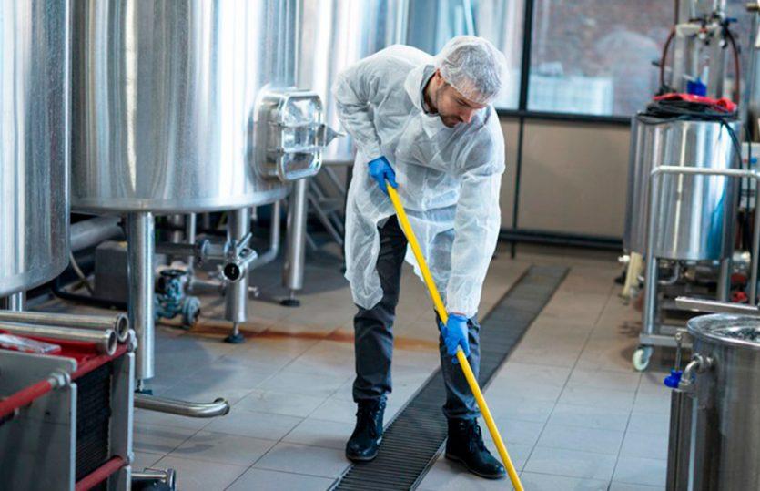 Saiba como manter um ambiente industrial higienizado